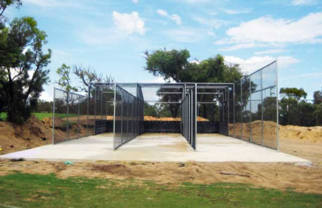 Chain Wire Cricket Nets Fence
