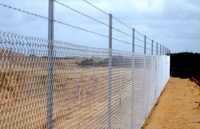 Security Chainwire Fence - Chain Wire