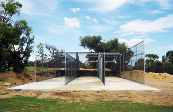 Heavy Duty Cricket Net Fence